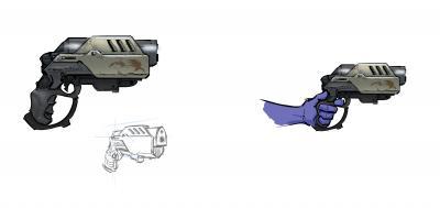 Pistol Concept by Christian Köhn