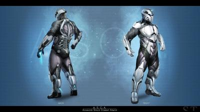 ASCA Space Suit by Stefan Akin